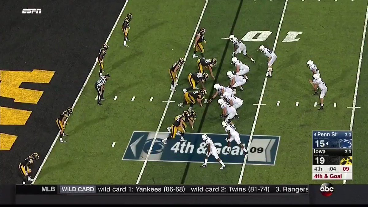 How Penn State's all-or-nothing, walk-off touchdown vs. Iowa worked