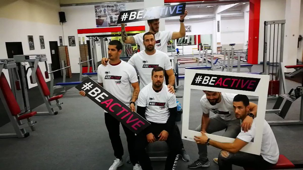 #Lions are supporting the initiative: #BeActive & join us at #EuropeanWeekOfSport! 🏋️ #rkzagreb https://t.co/kfGleFfXaX