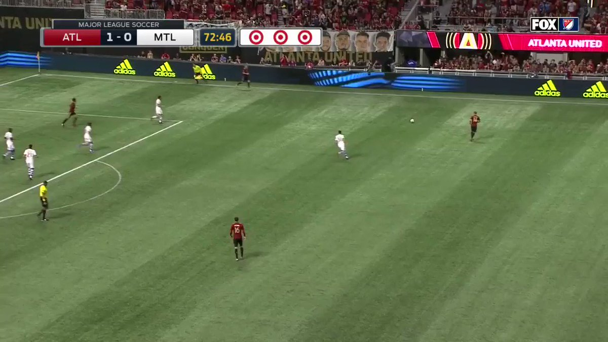 Big Red with the big goal for @ATLUTD! 2-0. #ATLvMTL https://t.co/uxDQ...