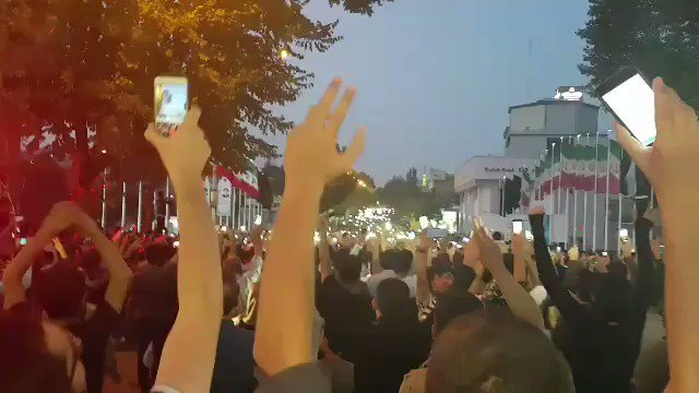Iran's leaders opposed Kurdish independence vote in Iraq. Iran's Kurds celebrated on the streets.