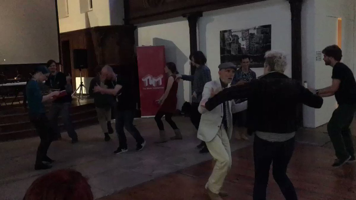 At an 'acid corbynism' event. Absolute scenes.