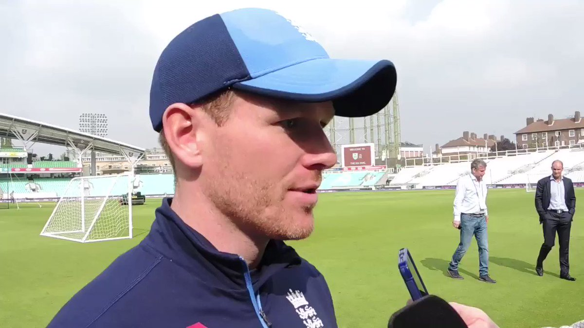 Here's England captain Eoin Morgan on th...