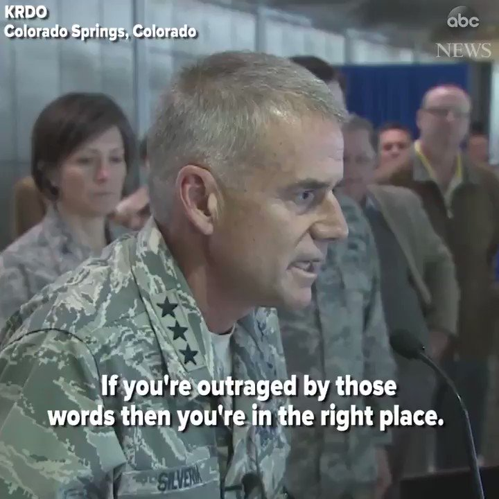 "Air Force Academy superintendent addresses racial slurs found on campus. ""You should be outraged."" https://t.co/NHbC63yrsv https://t.co/nQ1yiNIR4H"