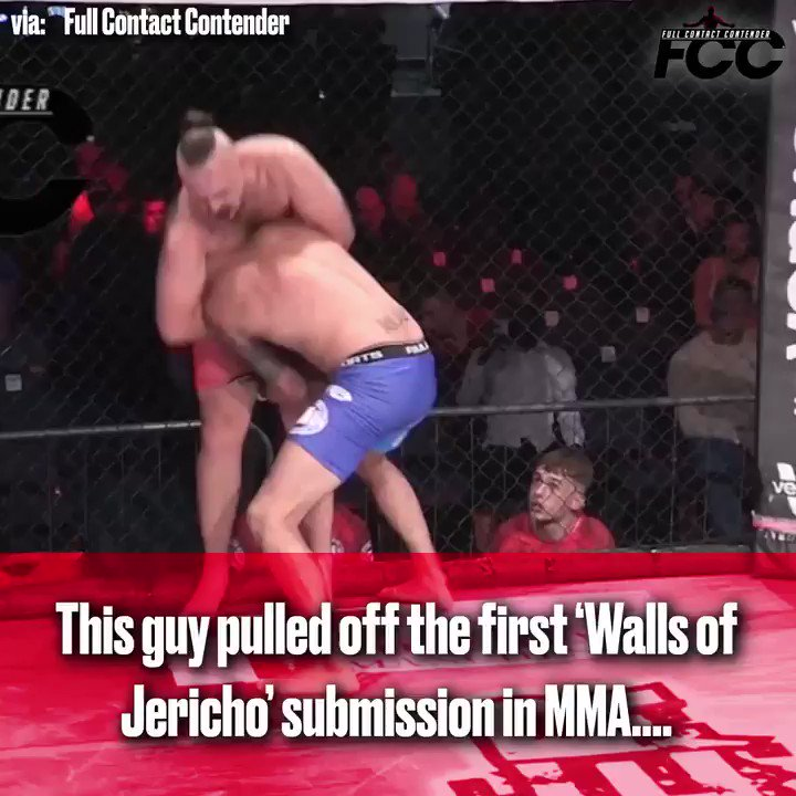 This MMA fighter submitted a guy with 'The Walls of Jericho' ...via @FCCMMA https://t.co/UGaL4wONVY
