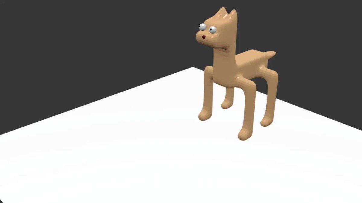【モデリング】初めて3Dアニメを作ってみた(Blender)