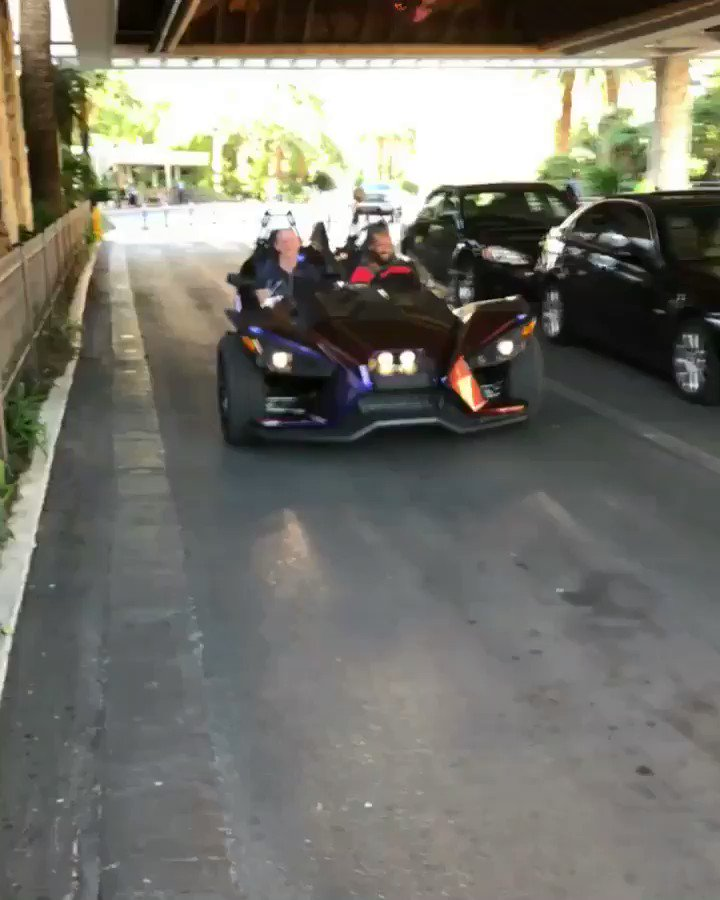 Rolling into fight week with a @Slingshot a.k.a mighty mobile!! #ufc216 https://t.co/j7pD9XNoRm