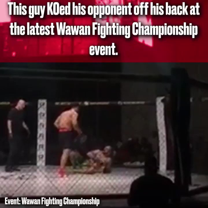 He KOed this guy from his back... https://t.co/ldUTPs83mO
