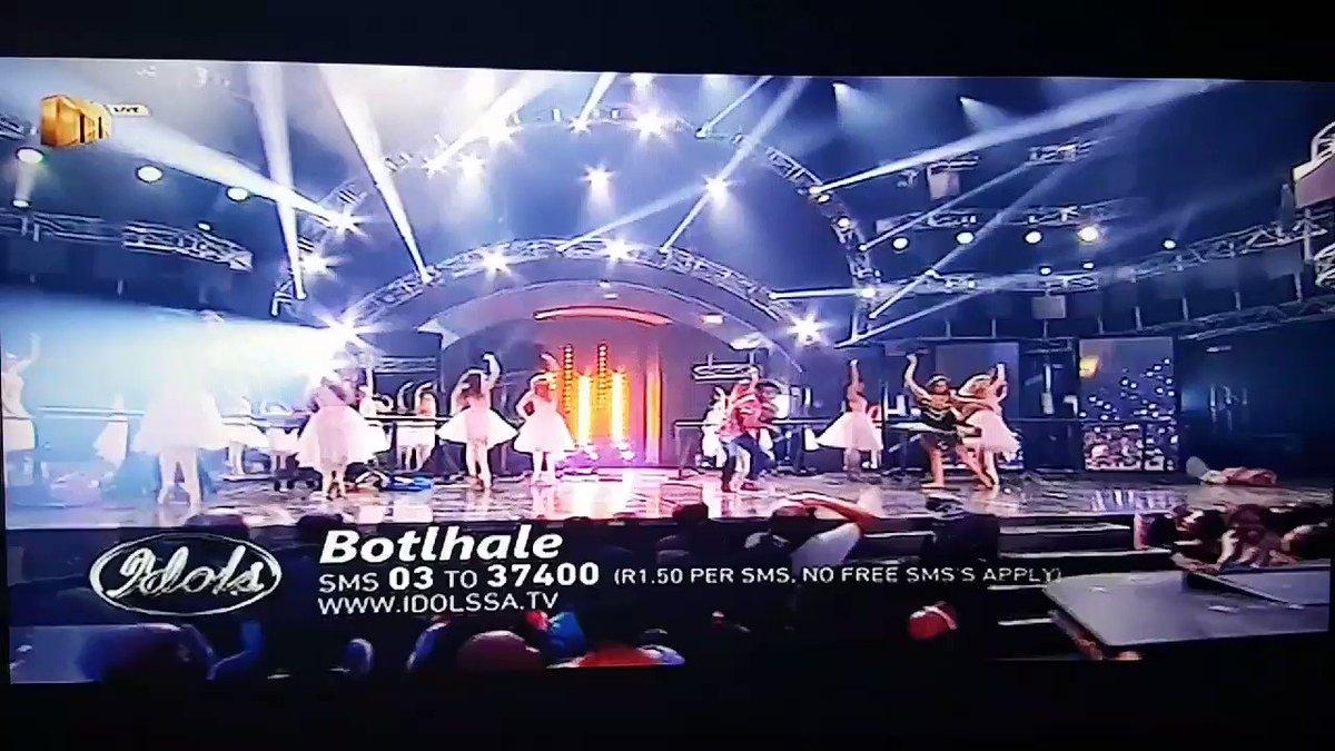 #IdolsSA Well done,bravo Botlhale 👏 http...