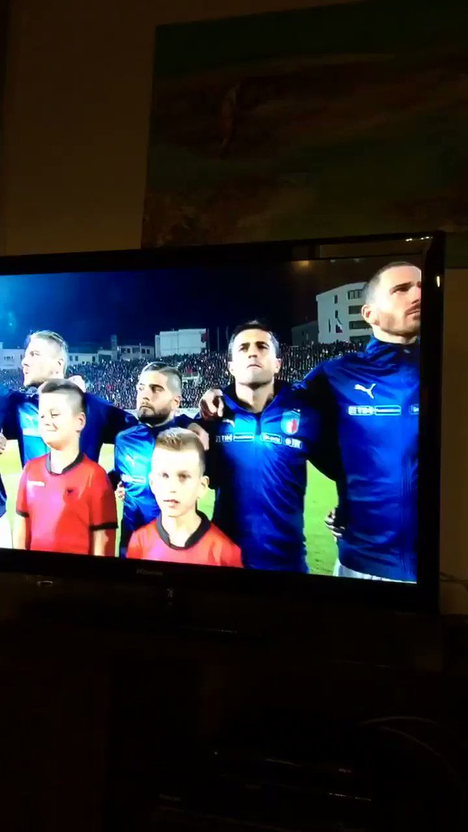 Savage move for Albania to pair Insigne with a kid who is as tall as he is #ALBITA https://t.co/7hy1IxqlqR