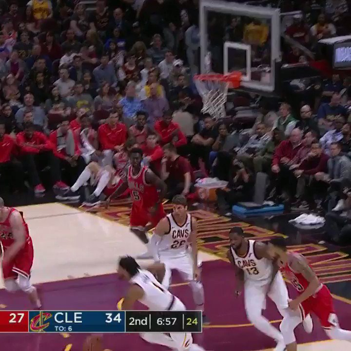 Jeff Green elevates for the alley-oop SLAM on ESPN! https://t.co/1iFOF...