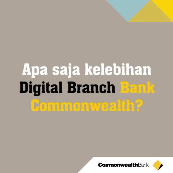 Nah inilah kelebihan dari #DigitalBranch...