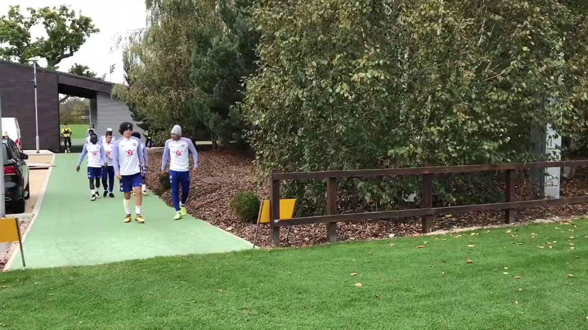 Time for training at Cobham... https://t...