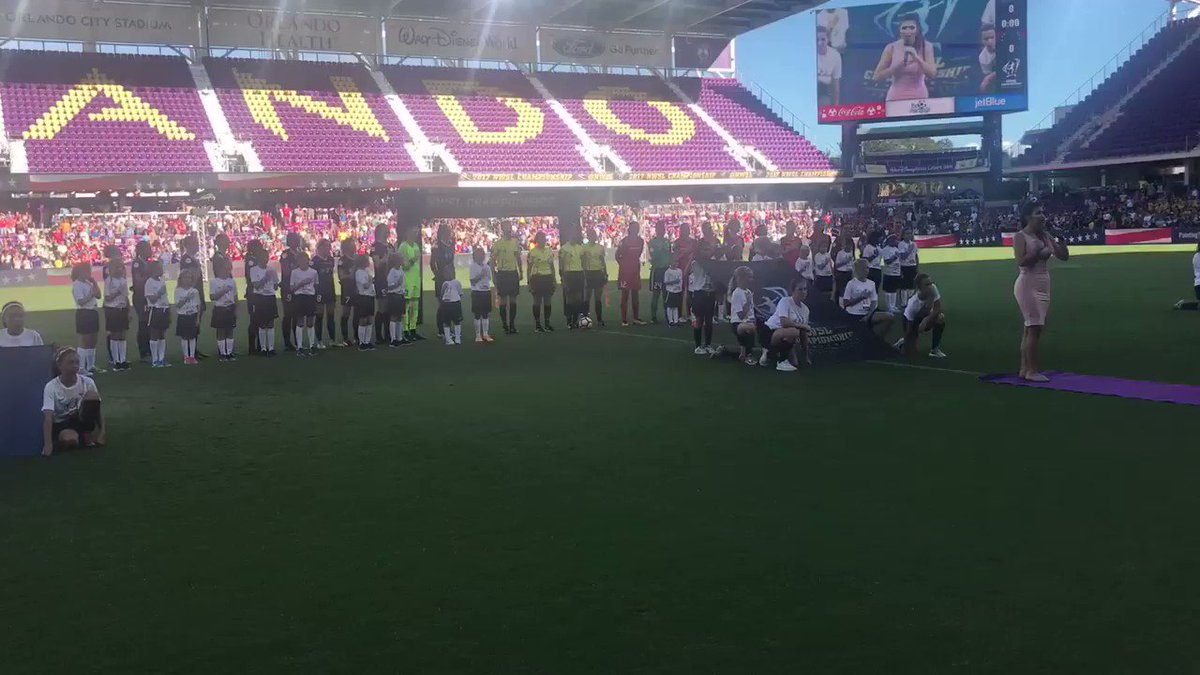 About to get this started. #NWSLChampion...