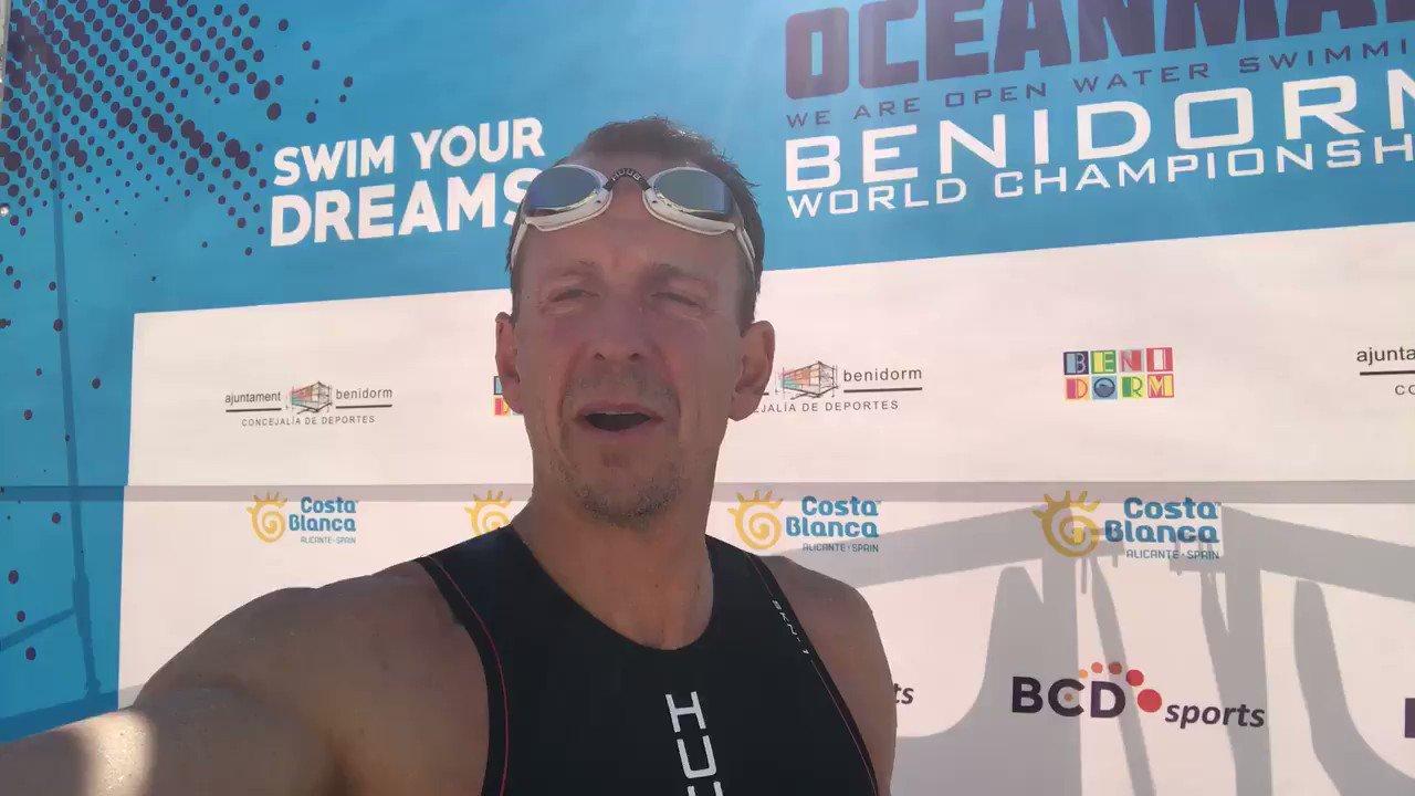RT @gpwhyte: Swim no.41 of my #50at50 - The Oceanman 10km in Benidorm, Spain @HUUBDesign @RLSSUK #drowningprevention https://t.co/i6rbh9suxT