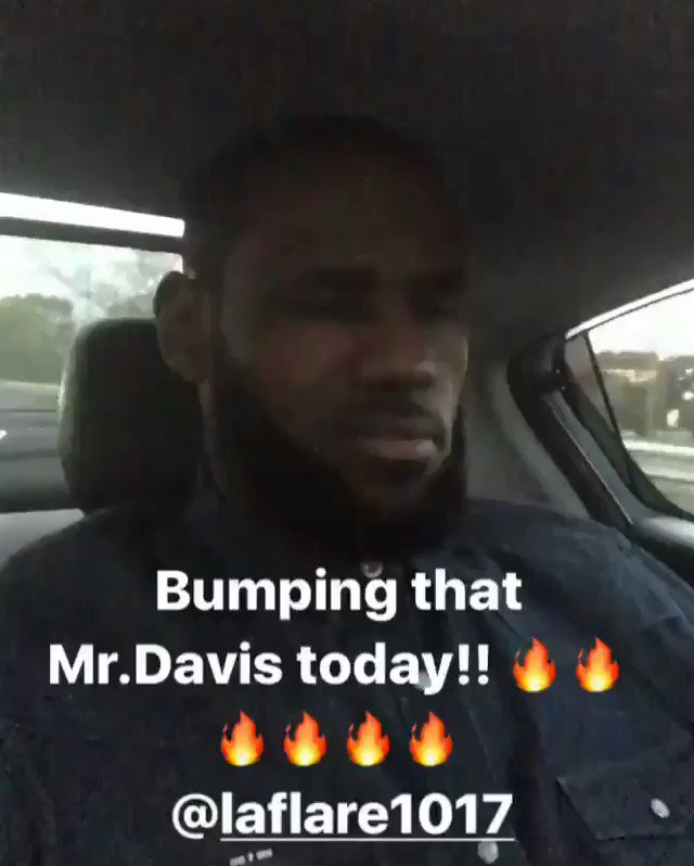 LeBron James on his Gucci Mane vibes! 🔥👍💯 @KingJames @Gucci1017 https:...