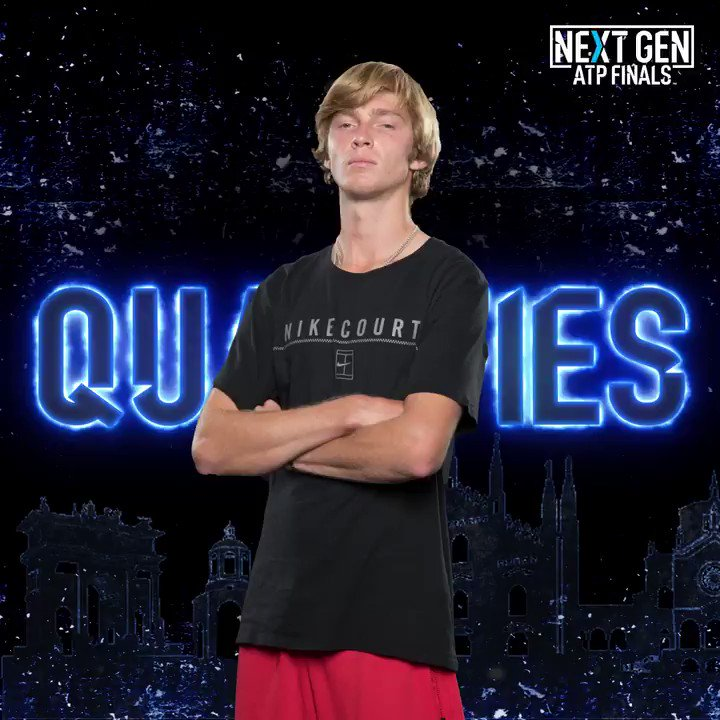 See you 🔜 in Milan, @AndreyRublev97! 👍...