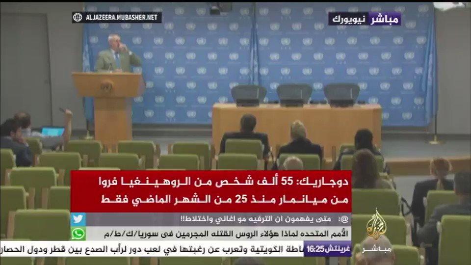 صحفي يسأل المتحدث باسم الأمين العام للأمم المتحدة: