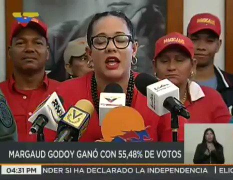 #EnVideo 📹| Gobernadora @MargaudPSUV ofrece balance de la participació...