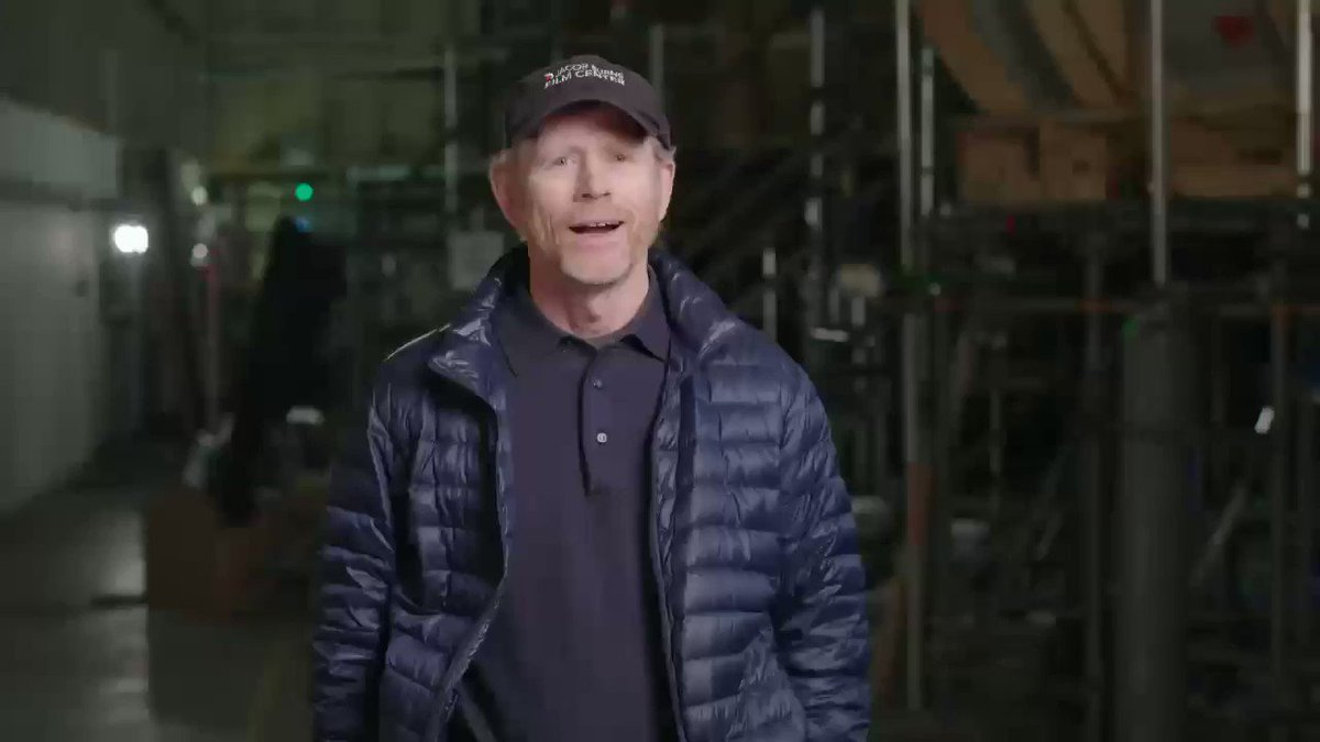 Hey #Twitterville  we just wrapped production so here's a special message #StarWars https://t.co/8QJqN5BGxr