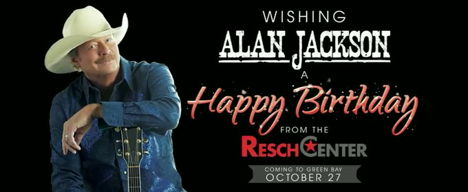 Happy Birthday to upcoming performer Alan Jackson!