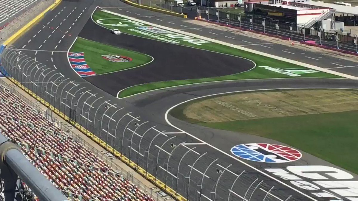 Here's 2.4 miles of fun on the Roval @CLTMotorSpdwy next October!!@PRNlive https://t.co/Z4AtwkaB1z
