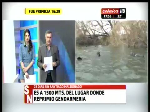 URGENTE | El testigo protegido del caso Maldonado denuncia que el cuer...