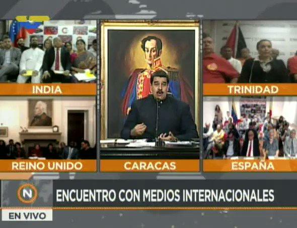 #EnVideo 📹| Así opinó el Presidente @NicolasMaduro sobre injerencia de...