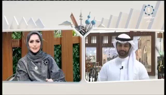 مذيعة تلفزيون #الكويت عن زميلها: شحلاته...