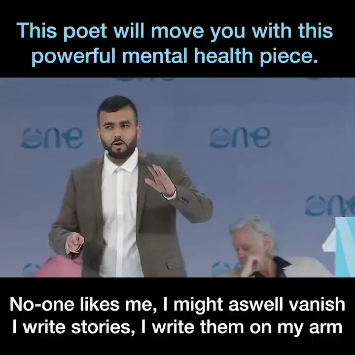 RT @HussainsHouse: My first ever keynote speech on mental health. Enjoy x https://t.co/XCdJp6AORA