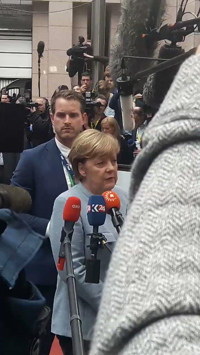 #Merkel sur l'agenda numérique européen...