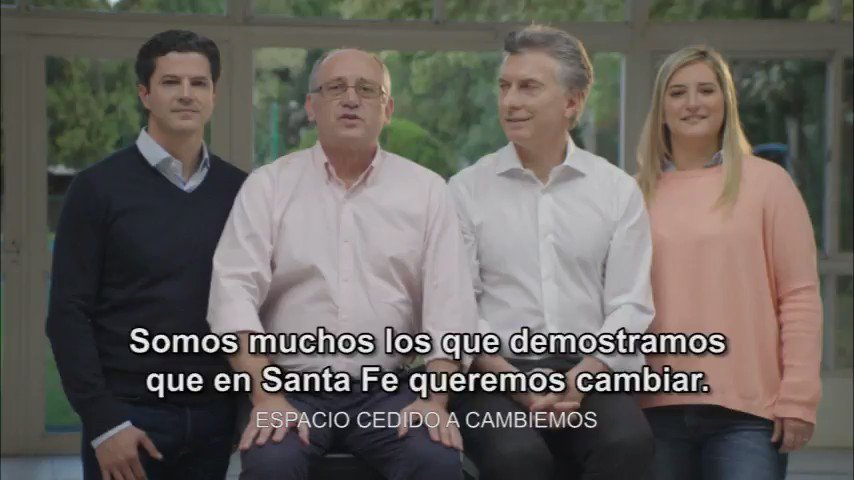 Este domingo 22 no aflojamos! #SantaFe va a ser parte del #Cambio!  #S...