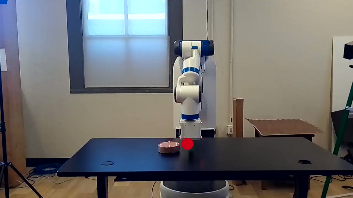 Blooper reel of a controller trained without using the randomization technique: