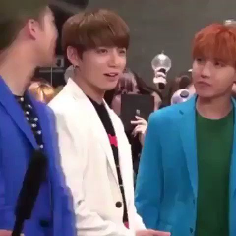 jungkook was feeling it but jhope and ba...