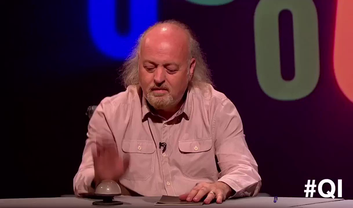 RT @BillBailey: My buzzer for tonight's Qi https://t.co/S3x5xeUEn2