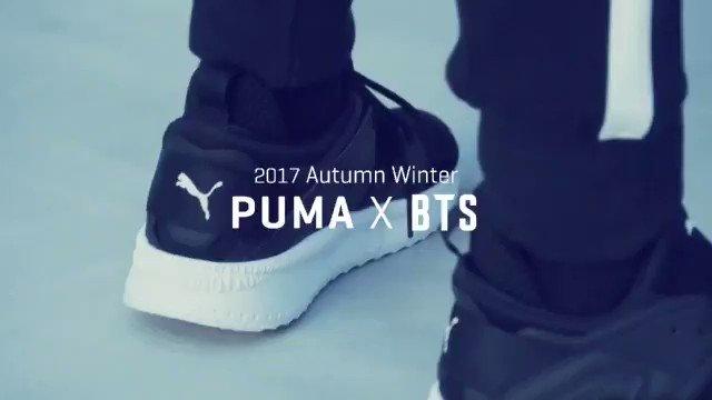 2017 AUTUMN WINTER PUMA X BTS #방탄소년단 @BT...