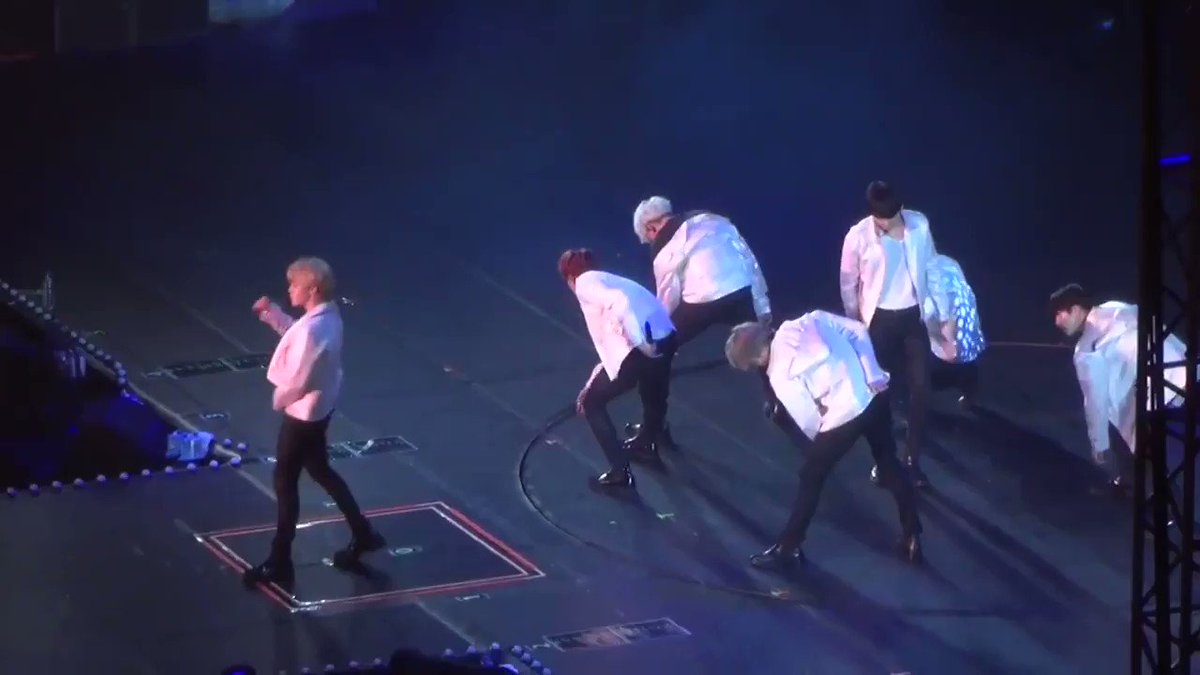 in the dope performance, after jimin pus...