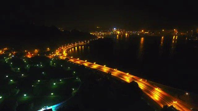 كورنيش مطرح بعد منتصف الليل ❤️❤️ #عمان h...