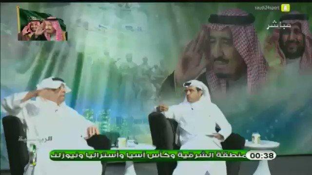 فهد الهريفي : في مباراة اليوم كان #الباط...