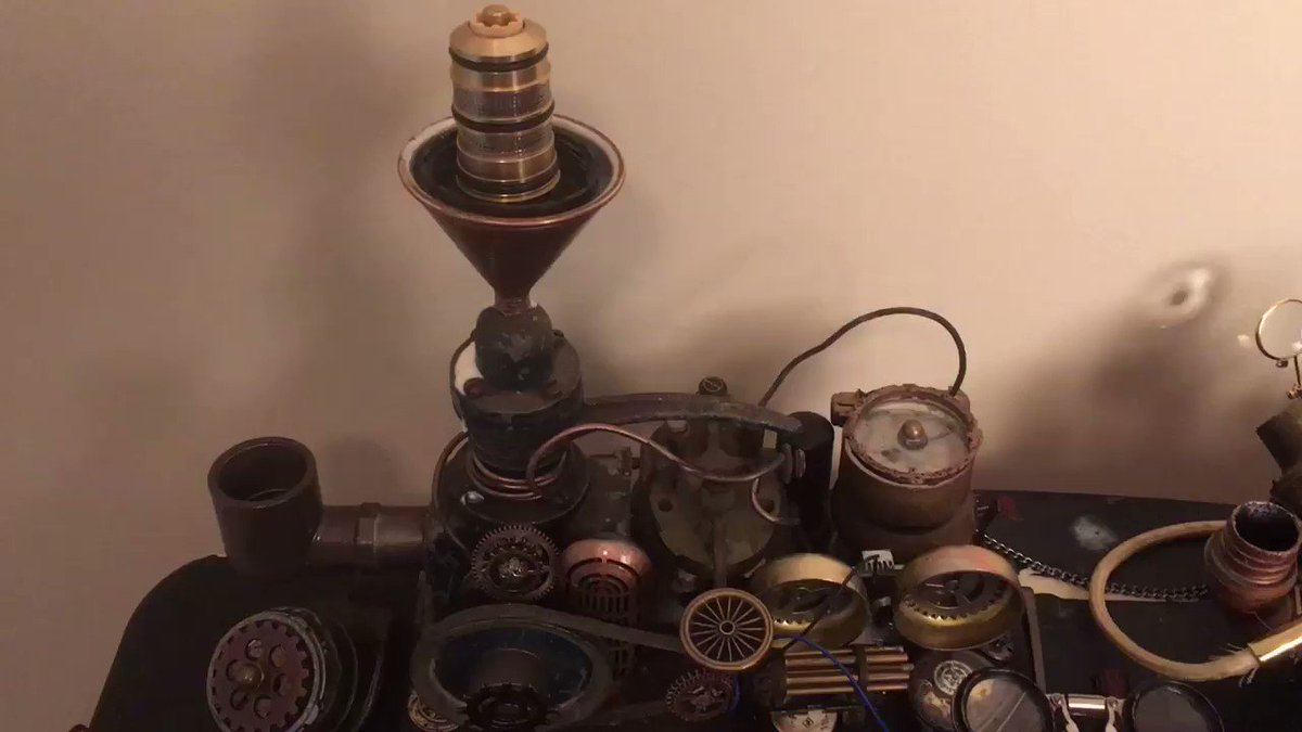 A little video of assorted proppages prepared for the next Gentlemen shoot. https://t.co/dZiHPb3Wi5 #steampunk #props