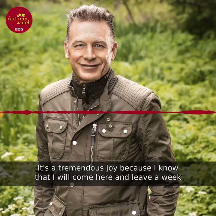What is @ChrisGPackham looking forward to on #Autumnwatch? 🍂 https://t...