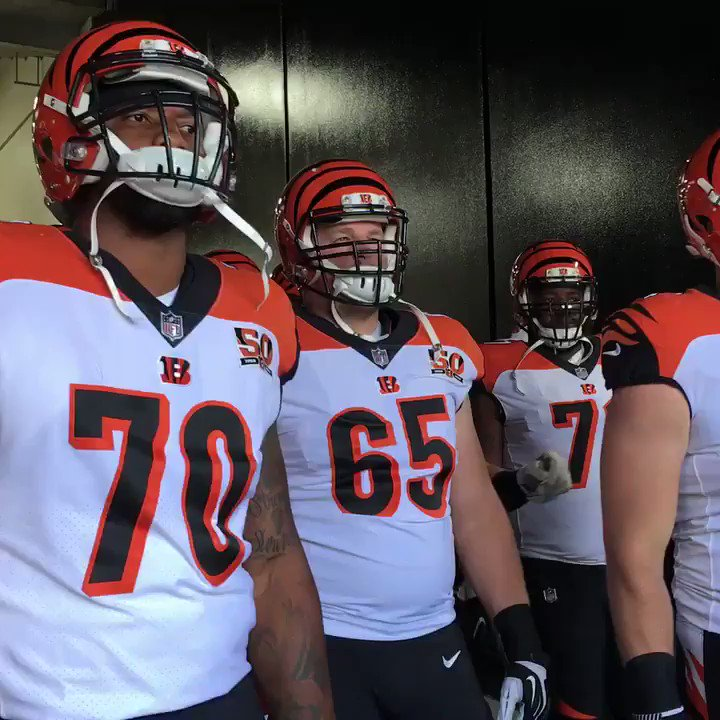 Focused & ready. #CINvsPIT #Bengals50 https://t.co/aFSKK7nEa0