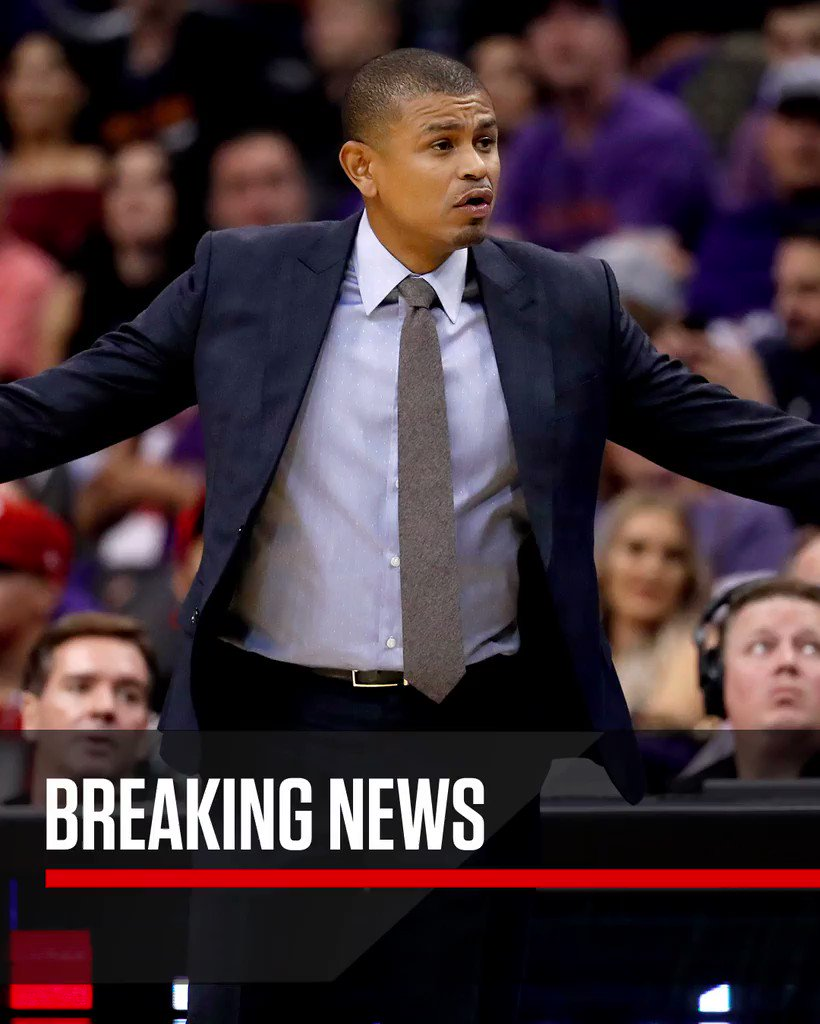 Phoenix Suns coach Earl Watson has been fired, league sources tell @wo...