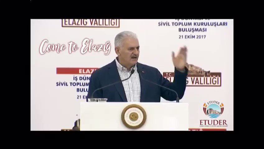 Başbakanımız Sn @BA_Yildirim da da #ComeToElazıg dedi. Sıra sizde Gakg...