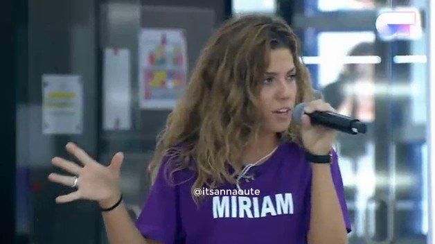 Pase de micro Miriam y Agoney #otdirecto...