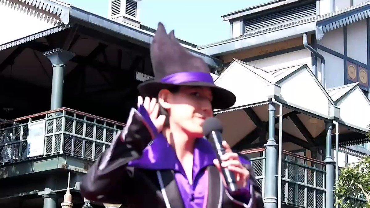 10/26 噛んじゃう&ツッコむ🐙 マイク欲しがり天然😈 この回の紫組色々と盛り沢山でした💮  #手下 #エイトフットのジョー  #マルフィ