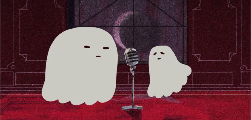 ghost duet 👻🎵 https://t.co/faXIofVvy8