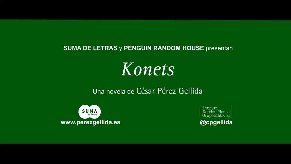 #Booktrailer de #Konets Sorteamos tres e...