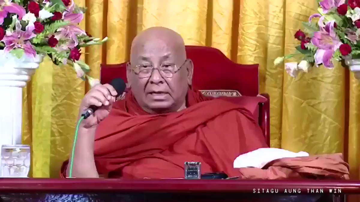RT @cjwerleman: 'Non-Buddhist are not human, so killing them is justified,' says top Myanmar Buddhist. https://t.co/18Zhdm9930