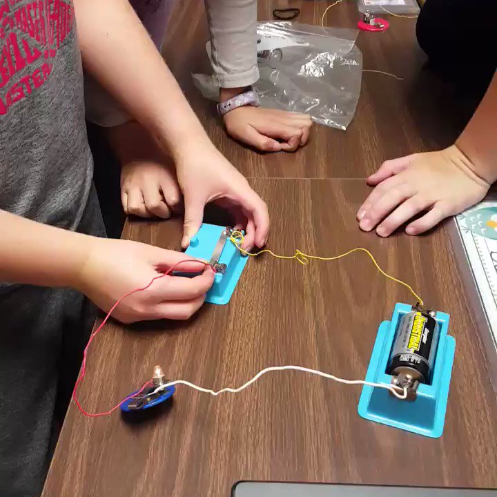 Students working together to build circuits.  #ccs118life