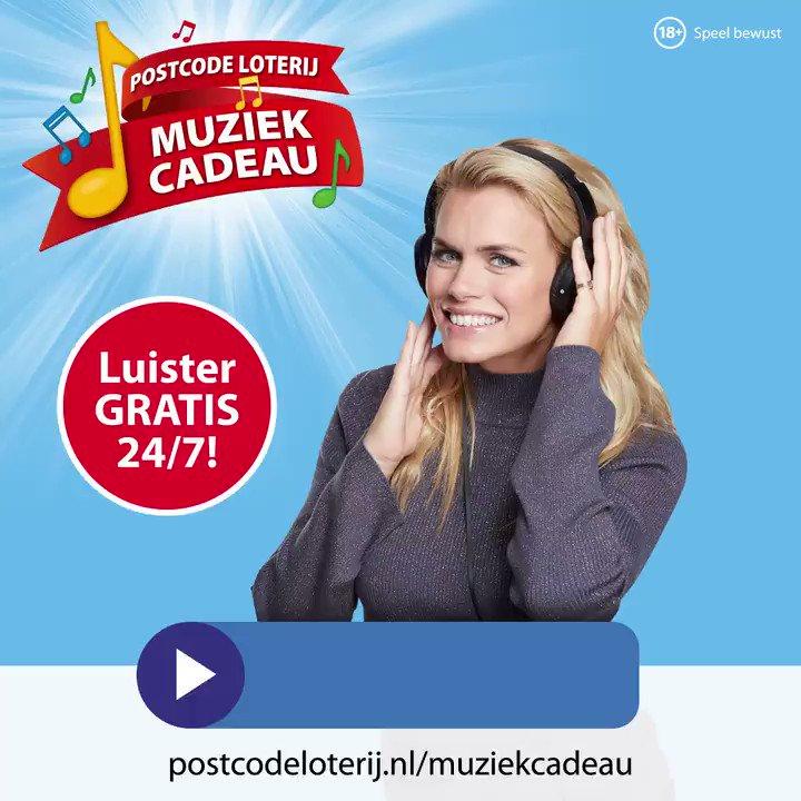 Postcode Loterij On Twitter Luister Gratis Naar Postcode